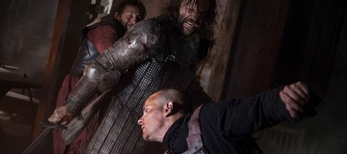 Game of Thrones wallpaper possibly with a breastplate and an armor plate entitled Season 4, Episode 1 – Two Swords