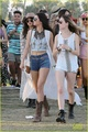 Selena at Coachella with the Jenner sisters (April 11) - selena-gomez photo