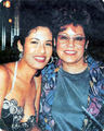 Selena with her mom Marcella:)