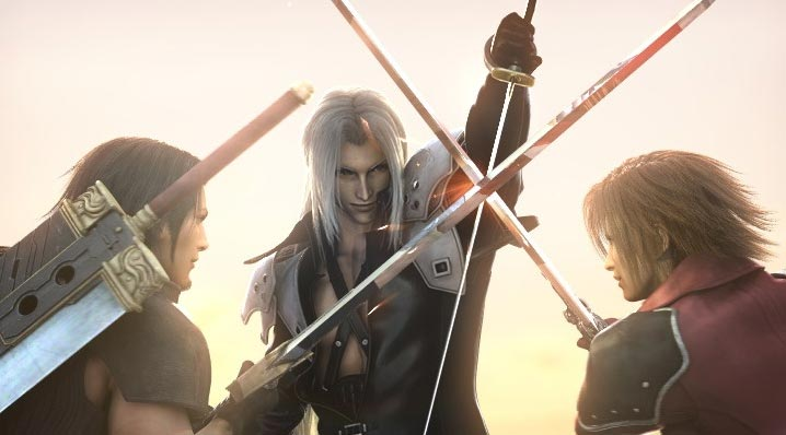 Sephiroth Vs Angeal And Genesis Final Fantasy Vii Photo