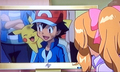 Serena sees Ash on TV