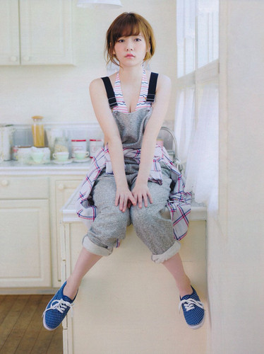 Akb Haruka Shimazaki Honey On Monthly Entame Magazine Photo Shared ...