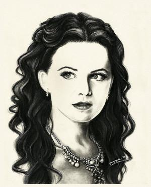 Snow White drawing sejak Jenny Jenkins