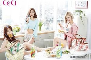 Sojin,Minah and Hyeri