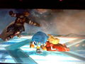 Sonic and Peach Hugging - super-smash-bros-brawl photo