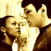 Spock and Uhura - star-trek-2009 icon