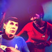 Spock and Uhura - star-trek icon