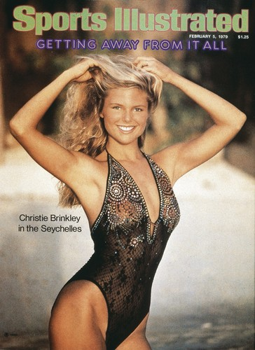 Christie Brinkley wallpaper with a maillot and a swimsuit called Sports Illustrated 1979 Swimsuit Issue