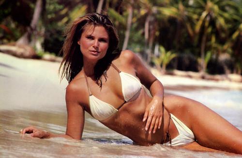 ক্রিস্টি ব্রিঙ্কলে দেওয়ালপত্র containing a bikini titled Sports Illustrated 1980 photoshoot