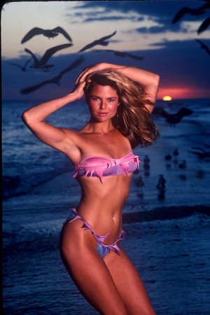Sports Illustrated 1981 photoshoot