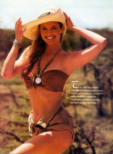 Christie Brinkley wallpaper with a bikini titled Sports Illustrated 1989 Swimsuit Issue