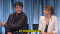 Stanathan at the PaleyFest - nathan-fillion-and-stana-katic photo