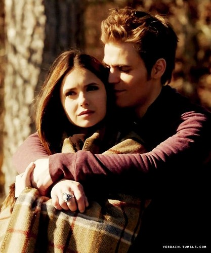 Stelena vs Delena پیپر وال possibly with a سٹریٹ, گلی and a portrait called Stelena always