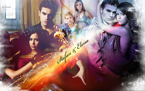 Stelena vs Delena پیپر وال probably with عملی حکمت entitled Stelena forever and ever