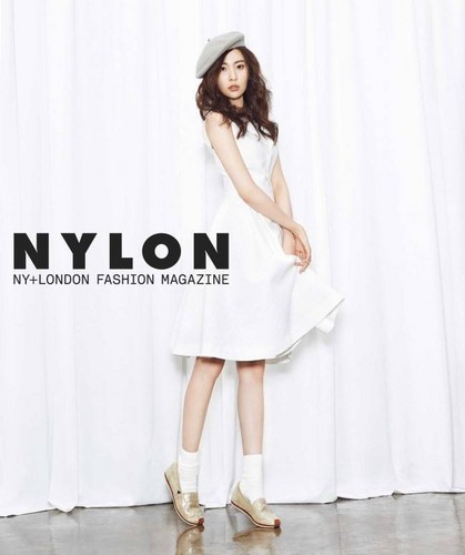 Sunmi fond d'écran with a cocktail dress, a nightgown, and a robe titled Sunmi 'Nylon'