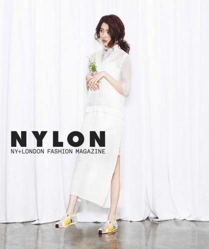 Sunmi Обои called Sunmi 'Nylon'