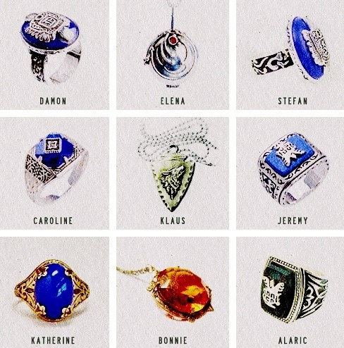 The Vampire Diaries Tv Show Wallpaper Called Tvd Jewelry