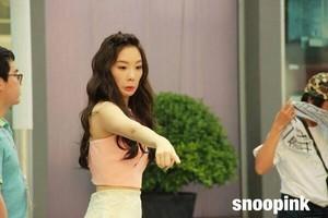 Taeyeon Dorky leader of SNSD