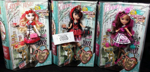 Ever After High wallpaper possibly with Anime entitled tè Party bambole