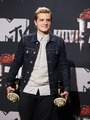 The 23rd Annual MTV Movie Awards - Press Room - josh-hutcherson photo