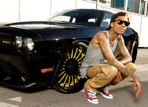 The Bigger The Bill The Harder You Ball (Wiz Khalifa Pics)