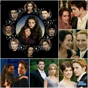 The Cullen family and Jake