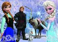 The Frozen - Uma Aventura Congelante Cast