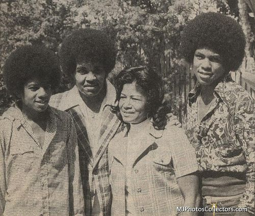 The Jacksons With Their Mother, Katherine