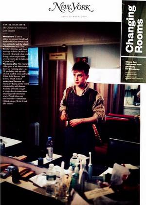 The New York magazine Posts Artical (Fb.com/DanielJacobRadcliffeFanC