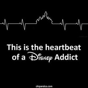 The heartbeat of a disney Addict