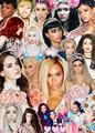 The pop queens