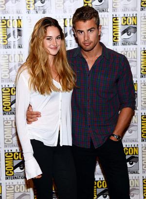 Theo and Shailene