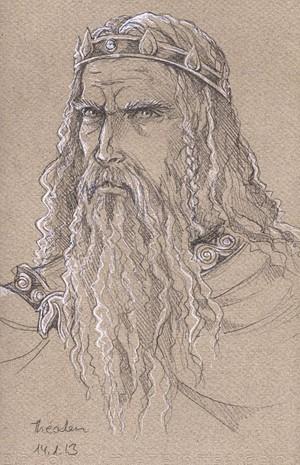 Theoden King by Gold-Seven.deviantart.com