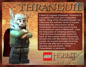 Thranduil in LEGO The Hobbit