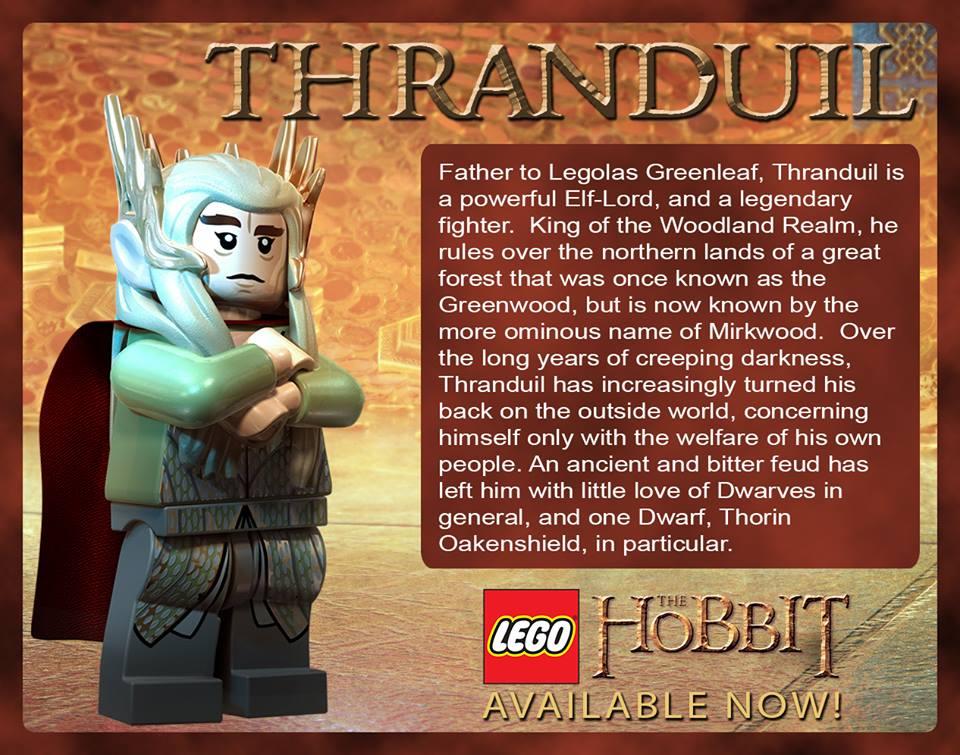 Thranduil in LEGO The Hobbit
