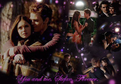 Stelena vs Delena پیپر وال containing a کنسرٹ titled Together, always and forever, Stelena
