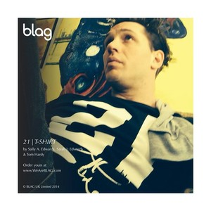 Tom Hardy in the brand new, remixed BLAG 21 tshirt