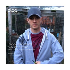 Tom in the Dark Arts II Zip-Up Hoodie and London, l'amour Sweater