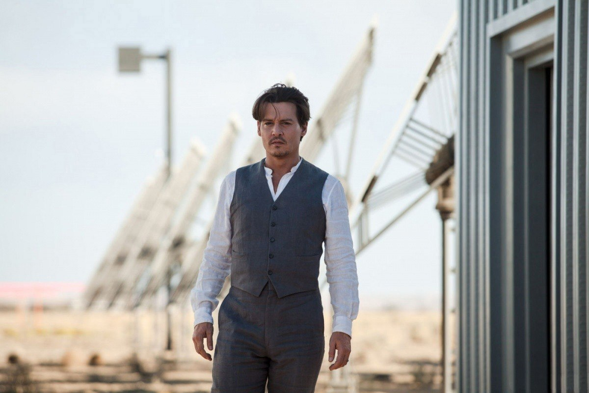 Transcendence new movie photos - Johnny Depp Photo ...