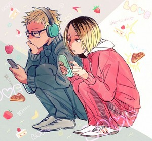 Tsukishima and Kenma