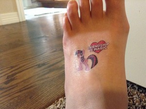 Twilight Sparkle tattoo!