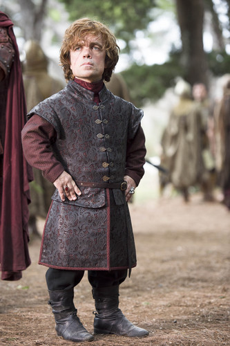 Tyrion Lannister wallpaper containing a surcoat titled Tyrion Lannister
