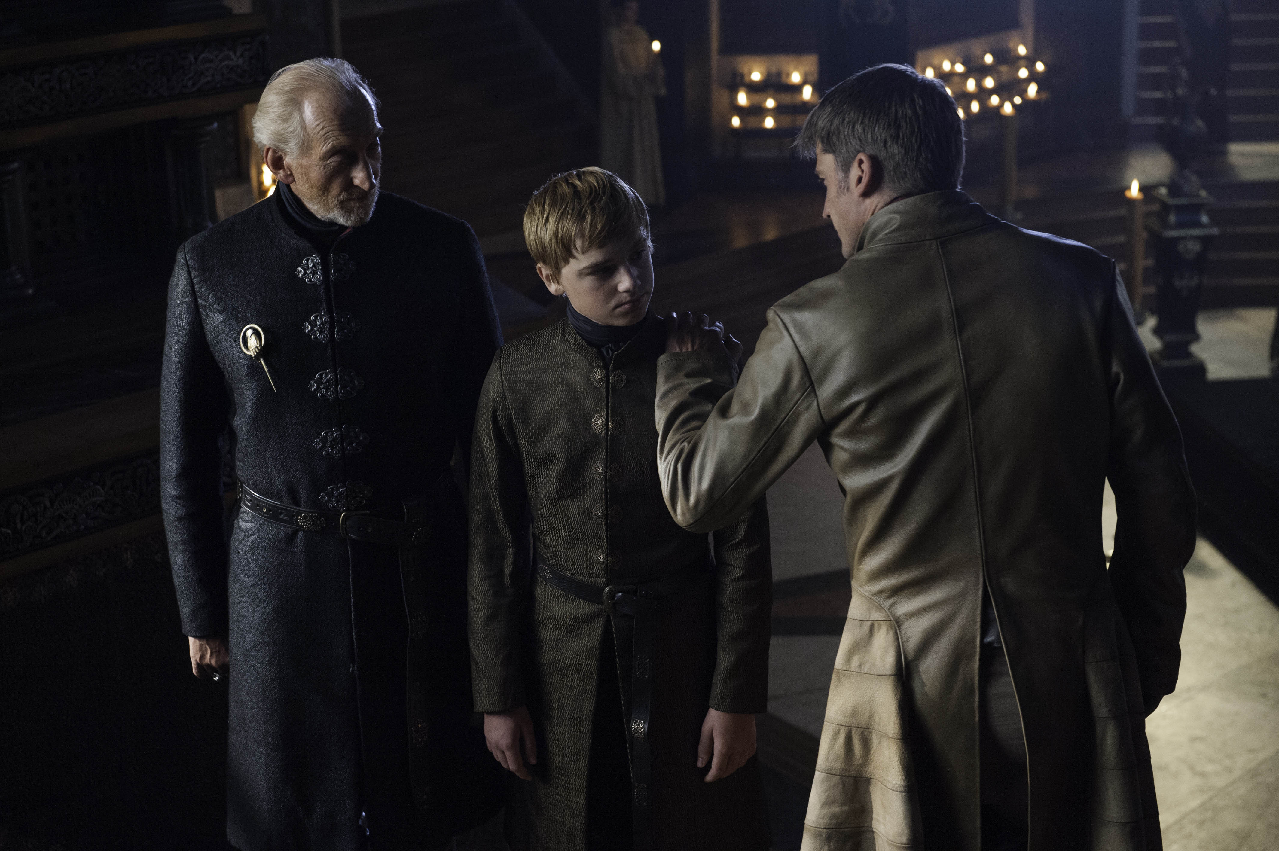 Tywin, Tommen and Jaime