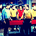 Uhura, Bones, Spock, Jim and Sulu