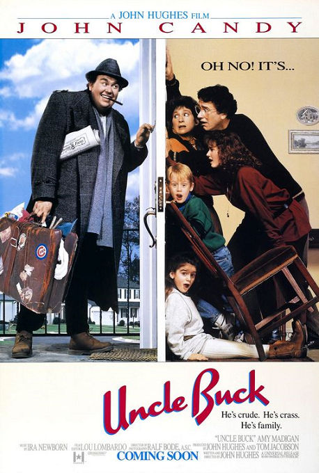John Candy images Uncle Buck film poster wallpaper and background ...