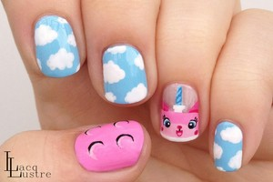 Unikitty Nails