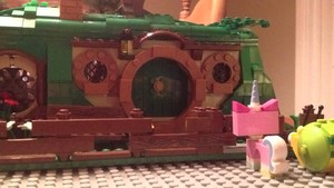 Unikitty discovers Lord of the Rings