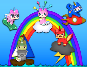 Unikitty's Forms