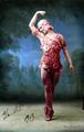 Vaslav Nijinsky in Le Spectre de la Rose - ballet fan art