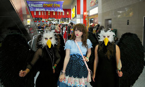 Venus Angelic at LONDON AUTUMN COMIC CON